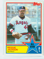 1983 Topps Baseball 390 Reggie Jackson All-Star California Angels Near-Mint to Mint
