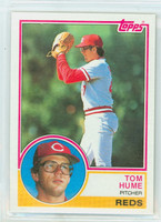 1983 Topps Baseball 86 Tom Hume Cincinnati Reds Near-Mint to Mint