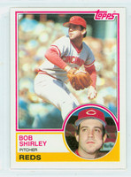 1983 Topps Baseball 112 Bob Shirley Cincinnati Reds Near-Mint to Mint