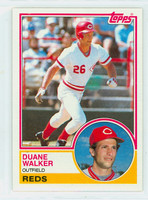 1983 Topps Baseball 243 Duane Walker Cincinnati Reds Near-Mint to Mint