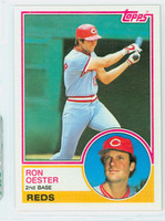 1983 Topps Baseball 269 Ron Oester Cincinnati Reds Near-Mint to Mint