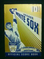 1951 White Sox Game Program vs Tigers (12 pg) Unscored Excellent [Lt wear, contents clean]