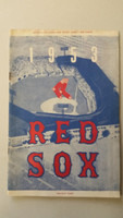 1953 Red Sox Program vs Yankees (24 pg) Unscored Hudson vs Blackwell Very Good to Excellent [Lt wear, ow very clean]