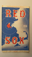 1956 Red Sox Program vs White Sox (24 pg) Scored Jul 14 PARNELL NO-HITTER (Bos 4-0, Williams 2 for 3) Excellent [Neatly scored No Hitter, sl toning ow very clean]