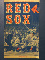 1959 Red Sox Program vs Senators (24 pg) Unscored Excellent to Excellent Plus [Very clean]