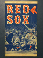1959 Red Sox Program vs White Sox (24 pg) Scored 4 1/2 INN July 14 - Wills vs Pierce (Chi 7-3, HR Jensen #21) Excellent [Very clean]