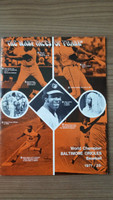 1971 BB Program Orioles vs White Sox (38 pg) Scored Aug 24 Cuellar vs Bradley (Bal 1-0, Cuellar 16-6) Excellent [Very lt wear, scored in pencil]