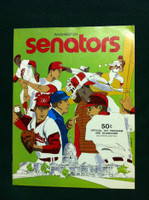 1971 Rangers Game Program vs Athletics Unscored Excellent to Excellent Plus