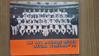 1972 BB Program Orioles vs Red Sox (38 pg) Unscored Near-Mint [Very lt wear, overall clean]