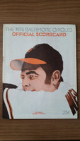 1974 BB Program Orioles vs Tigers (36 pg) Unscored Excellent [Lt wear, overall very clean]