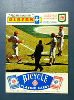 1970 Reds Scorecard vs Expos (4 pg) Bench Rose, Perez Cover Unscored Excellent [Newsstand fresh copy; corner ding, ow sharp NMT]