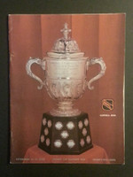 1970 NHL Program Stanley Cup Playoffs Penguins vs Blues Near-Mint