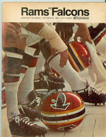 1968 NFL Program Rams vs Falcons Oct 20 1968 Excellent