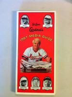 1987 St Louis Cardinals Media Guide (176 pg) - Loaded with team information (Pennant Winners!) (from the Red Schoendienst collection) Near-Mint