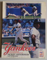 1988 Yankees Program vs White Sox (78 pg) Scored Guidry vs LaPoint Excellent [Lt wear, neatly scored]