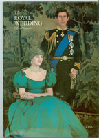 The Royal Wedding of Prince Charles and Diana Spencer - Official Souvenir Booklet (34 pages) (from the Red Schoendienst collection) Very Good to Excellent [Sl warping from storage can probably be flattened out, ow very clean]
