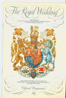 The Royal Wedding of Prince Charles and Lady Diana Spencer - Official Souvenir Programme (32 pages) (from the Red Schoendienst collection) Near-Mint [Very clean]
