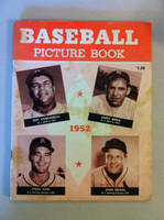 1952 Baseball Picture Book (100 pages) - loaded with rost information, stats and photos of all major leaguers (from the Red Schoendienst collection) Very Good to Excellent [Staining and discoloration on cover, contents clean]