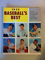 1953 Baseball's Best (98 pages) - loaded with photos and features including Mickey Mantle (from the Red Schoendienst collection) Excellent [Lt wear and corner touches on cover, ow clean]