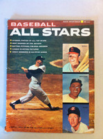 Baseball All-Stars Magazine (1957 - 98 pages) - loaded with photos and features including Mickey Mantle (from the Red Schoendienst collection) Very Good [Wear along binding, contents fine]