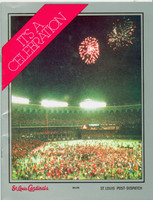 1982 Cardinals World Series Champions booklet (30 pg) ft highlights and photos from the 1982 Championship season (from the Red Schoendienst collection)