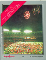 1982 Cardinals World Series Champions booklet (30 pg) ft highlights and photos from the 1982 Championship season - from the Red Schoendienst collection