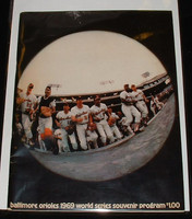 1969 World Series Program - Mets at Orioles Unscored Near-Mint Plus