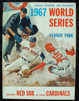 1967 World Series Program - Cardinals at Red Sox Unscored Near-Mint to Mint