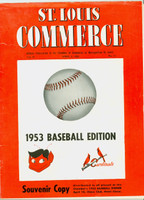 Saint Louis Commerce April 1953 - Cardinals articles and photos (from the Red Schoendienst collection)