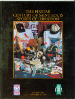 Firstar Century of Saint Louis Sports Celebration (64 pg) w/Musial, Buck (from the Red Schoendienst collection)