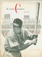 Saint Louis Commerce April 1955 - Musial on Cover, Cardinals articles and photos (from the Red Schoendienst collection)