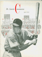 Saint Louis Commerce April 1955 - Musial on Cover, Cardinals articles and photos (from Red Schoendienst collection)