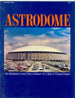 Houston Astrodome Promotional Booklet (18 pg) (Circa 1969) (from the Red Schoendienst collection)
