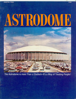 Houston Astrodome Promotional Booklet (18 pg) w/Sports Photos Interior (Circa 1969) (from the Red Schoendienst collection)
