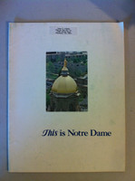 1977 University of Notre Dame - This Is Notre Dame Game Program 10-22-77 vs USC (24 pages) (from the Red Schoendienst collection) Excellent [Lt toning on cover, name sticker present; contents fine]