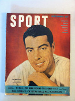 1949 Sport Magazine September Joe DiMaggio (from the Red Schoendienst collection) Very Good to Excellent