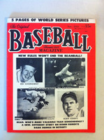 Baseball Magazine November 1953 (68 pg) Reese, Rizzuto, Roberts, Schoendienst (from the Red Schoendienst collection)