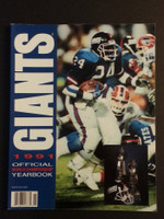 1991 NY Football Giants Near-Mint to Mint