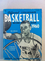 1960 Official Collegiate Basketball Record Book (194 pg) (Ron Johnson, Minnesota on cover) Good to Very Good [Lt wear on cover, ow very clean]