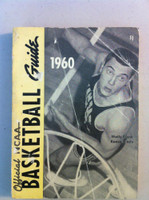 1960 Official NCAA Basketball Guide (194 pg) (Wally Frank, Kansas State on cover) Good to Very Good [Heavy creasing on cover, contents fine]
