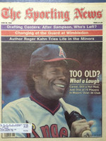 1983 The Sporting News June 20 Rod Carew Excellent