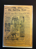 1962 Sporting News January 17 Rogers Hornsby : staining on cover, contents fine Fair to Good