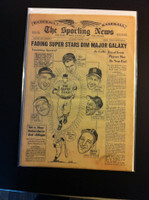 1962 Sporting News March 7 Mantle, Mays, Musial, Spahn, Williams Very Good to Excellent