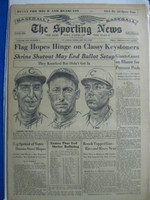 1960 Sporting News February 10 HOFers Rice, Rixey, Rousch Very Good
