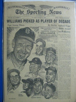 1960 Sporting News August 17 Ted Williams Very Good