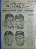 1960 Sporting News August 31 Dick Groat, Roger Maris Very Good