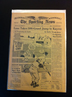 1961 Sporting News January 11 Ted Kluszewski Very Good
