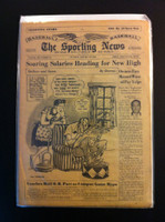 1961 Sporting News January 18 Dazzy Vance, Johnny Vander Meer Very Good
