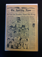 1961 Sporting News March 8 Leo Durocher Very Good to Excellent