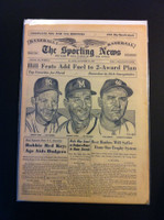 1961 Sporting News September 13 Arroyo, Ford, Spahn - Mantle / Maris HR chase Very Good to Excellent